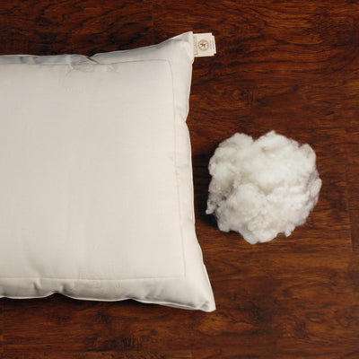 Certified Organic Wool Pillow — Euro