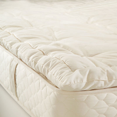 "Naturally Safer® 1.5"" Wool Mattress Topper"
