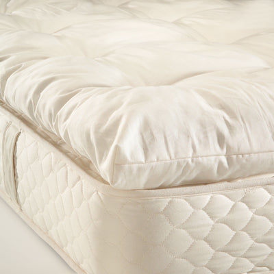 "Naturally Safer® 3"" Wool Mattress Topper"