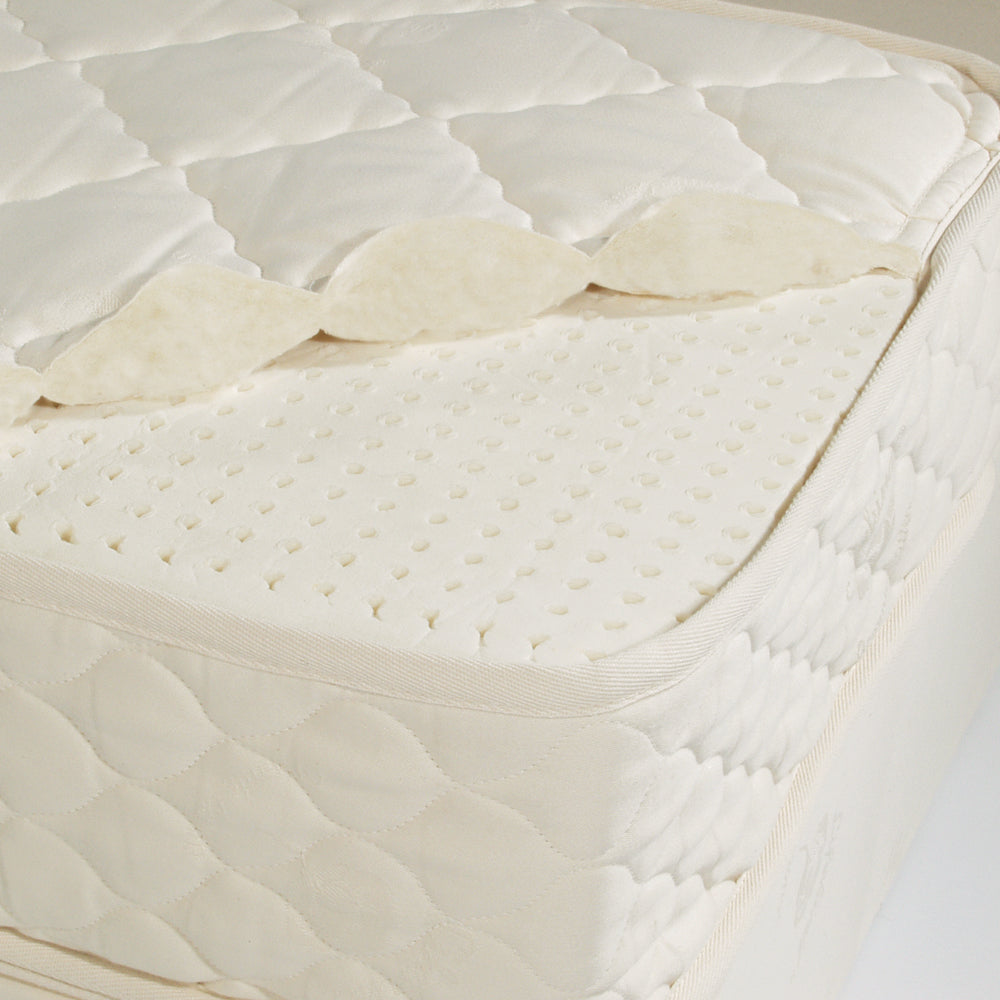 Certified Organic Natural Rubber Crib Mattress Lifekind Lifekind