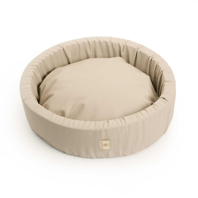 Natural Round Pet Bed