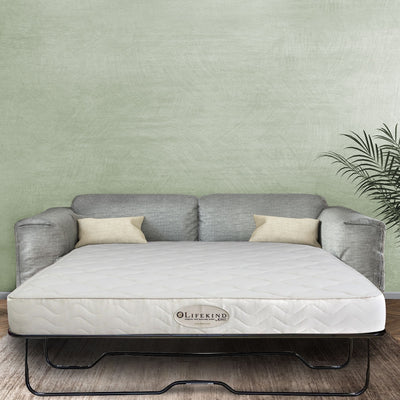 Certified Organic Hide-a-bed Couch Mattress,  latex mattress, organic latex mattress, organic mattress, lifekind latex mattress, organic mattresses, latex mattresses
