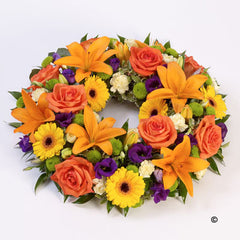 Peach Wreath