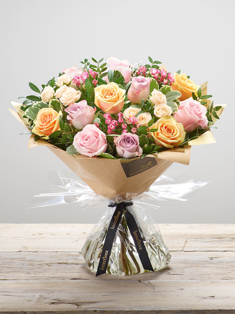 Darling Rose Hand Tied
