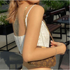 White Lace Crop Tops for Women Fashion E Girl Clothes Sexy Corsets To Wear Out Club Cami Tank Top 2021