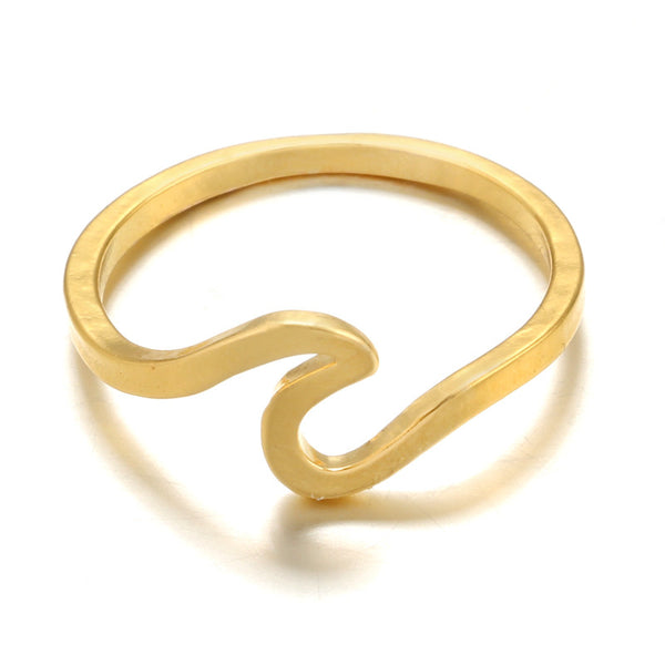 Simple Metal Surfer Ring