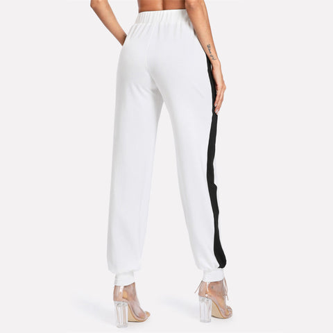Drawstring Waist Women Pants