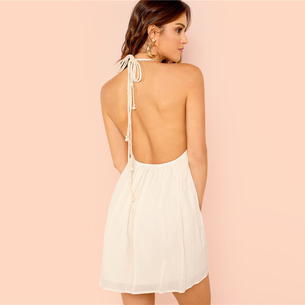 White Vacation Dress