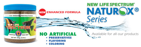 New Life Spectrum Naturox Tropical Fish Food