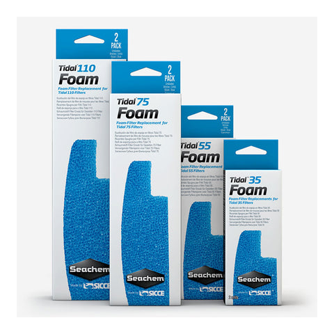 Seachem Tidal Replacement Foam 2pk