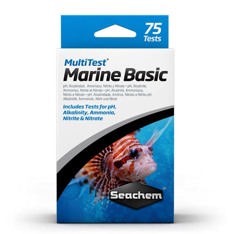 Seachem MultiTest - Marine Basic