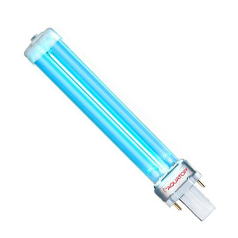 Aquatop Replacement UV Bulbs - G23 2 Pin Square Base