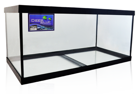 Deep Blue Standard Black Frame Aquariums