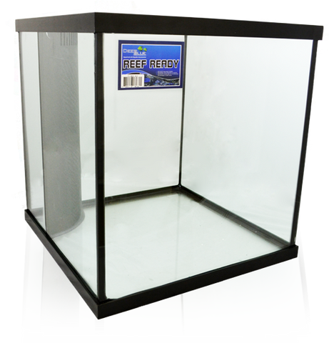 Deep Blue Reef Ready Black Frame Cube Aquariums
