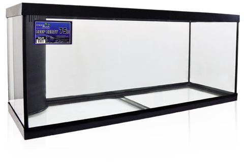 Deep Blue Reef Ready Black Frame Aquariums