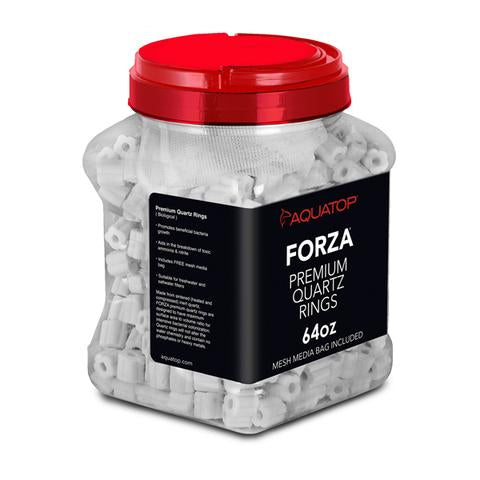 Aquatop FORZA Premium Quartz Rings Media (Bulk)