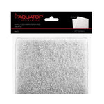 "Aquatop White Poly Fiber Media Pad 18""x10""x0.4"", 2pcs/Bag"