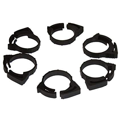 2LF Ratchet Clip Hose Clamps (6 pack)