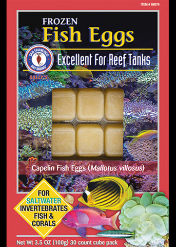 SFBB Frozen Fish Eggs Cubes 3.5oz