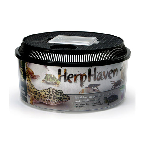Lee's HerpHaven Low Round Breeder Box Container