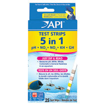 API 5-in-1 Aquarium Test Kit Strips