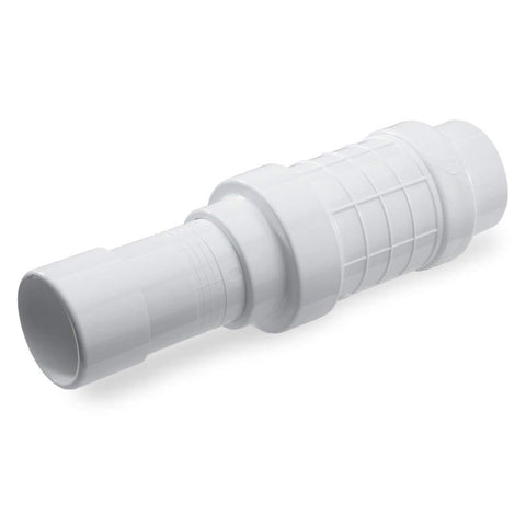 PVC  Quick Fix Telescopic Repair Coupling White