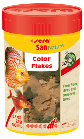 Sera San Nature Natural Color Flake Food