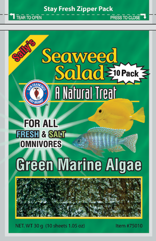 SFBB Seaweed Salad - Green 10 Pack