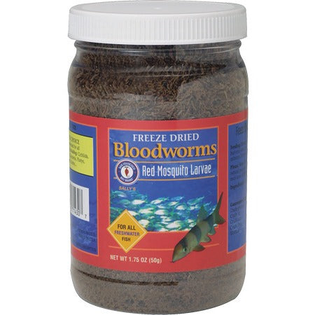 SFBB Freeze Dried Bloodworms