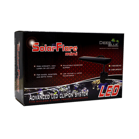 Deep Blue SolarFlare Mini LED Light