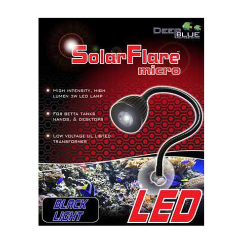 Deep Blue SolarFlare Micro LED Spot Light