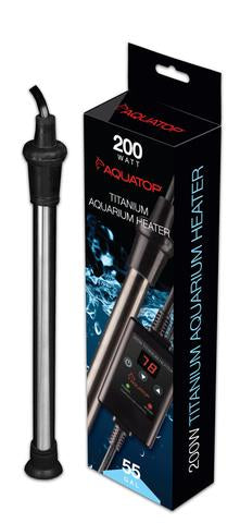 Aquatop Titanium Heaters w/ Inline Digital Controller
