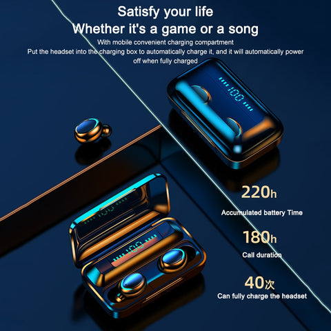 WWEB - Waterproof Wireless Earphone Bluetooth