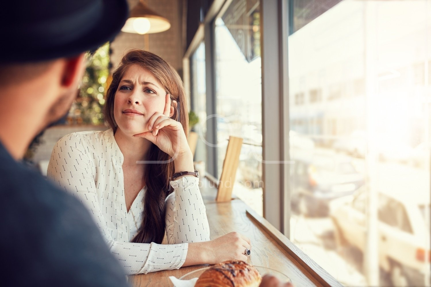 Young couple at coffee shop – Jacob Lund Photography Store ...