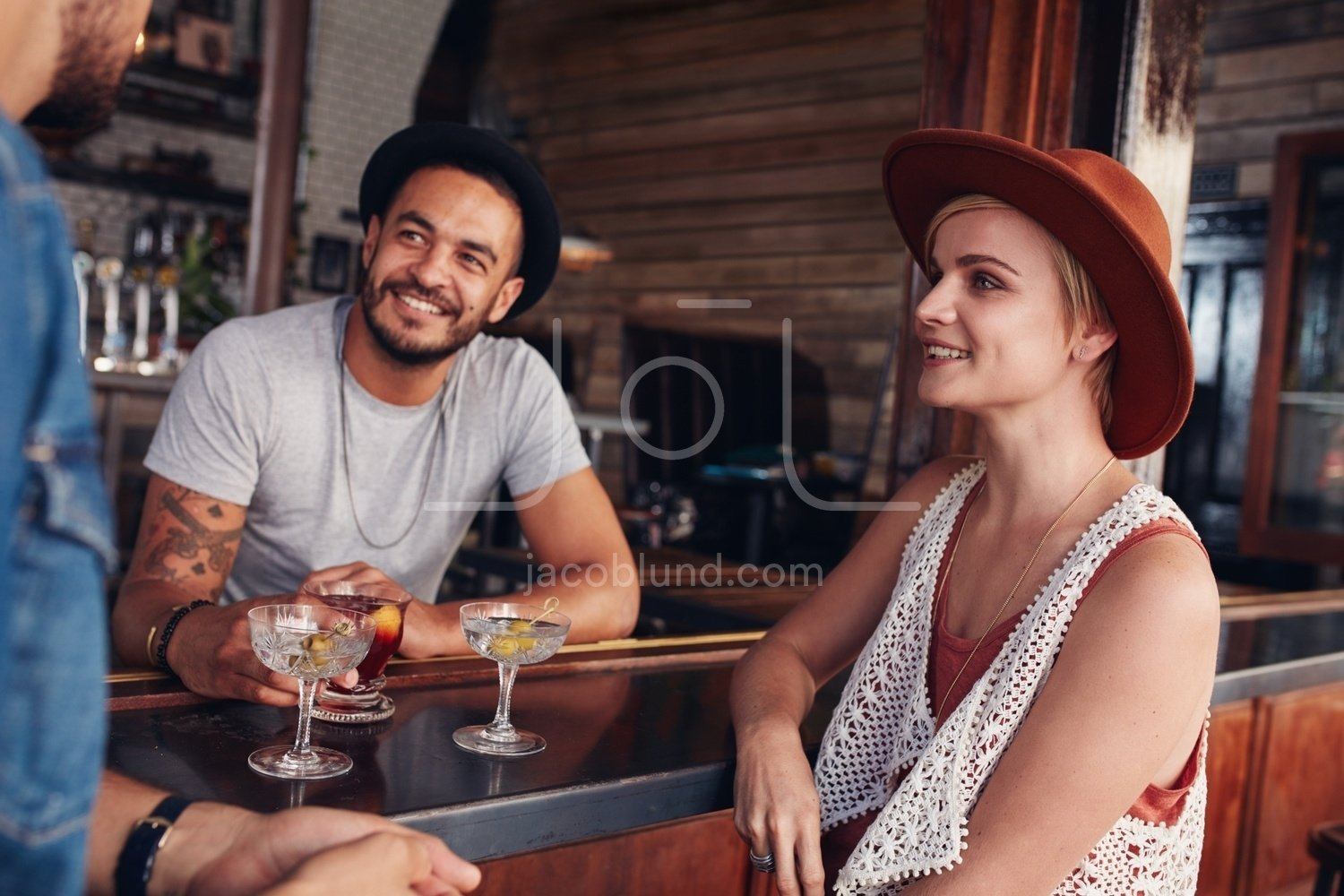 Group Of Young People Meeting In A Cafe Jacob Lund Photography Store Premium Stock Photo