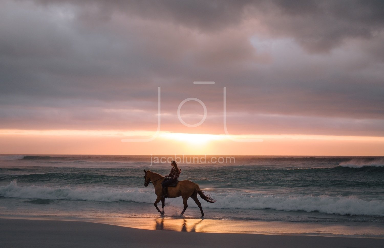 Woman Riding Horse On The Beach In Evening Jacob Lund Photography Store Premium Stock Photo