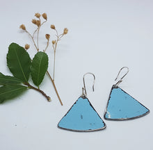 Load image into Gallery viewer, Single Tier Blue Holden HK Earrings