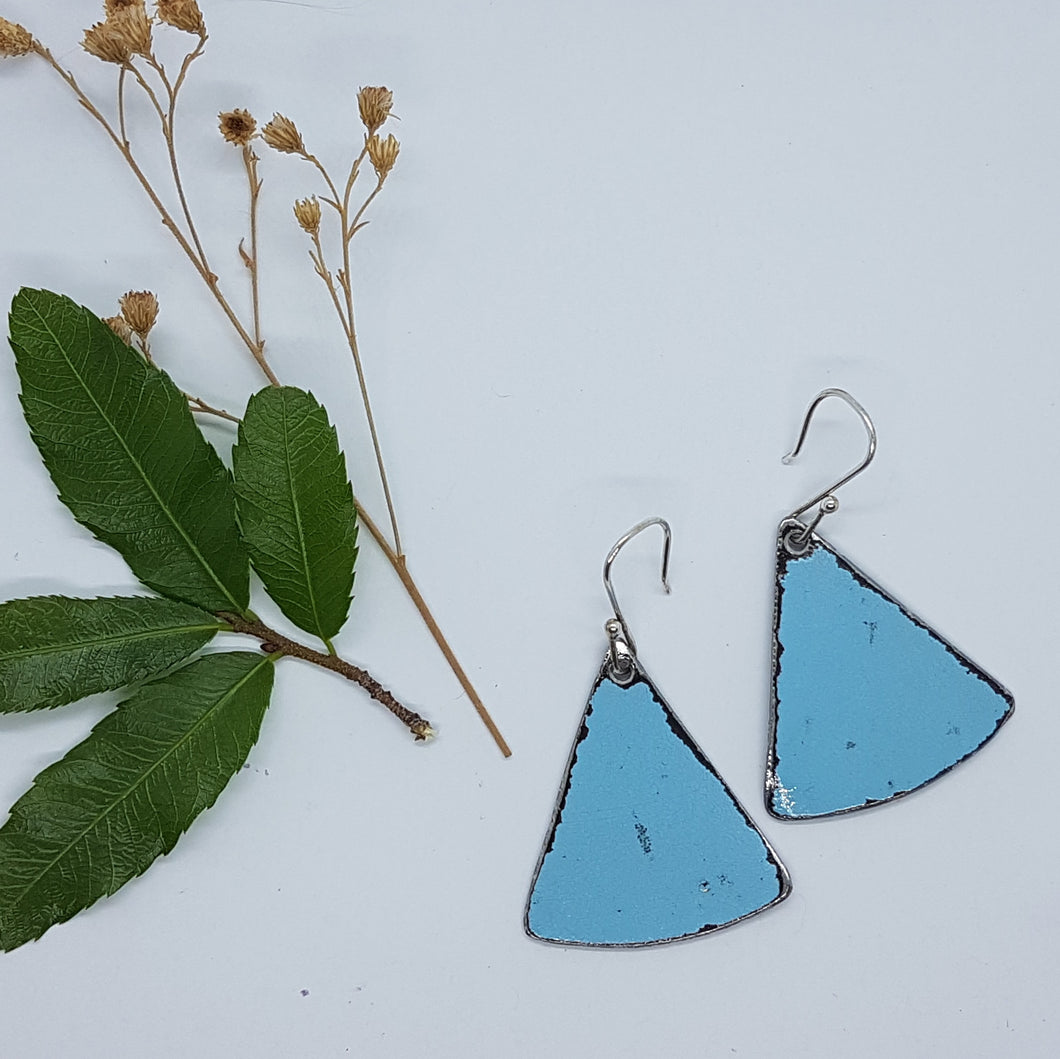 Single Tier Blue Holden HK Earrings