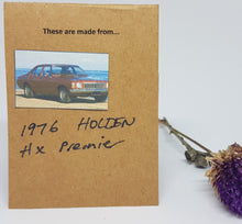 Load image into Gallery viewer, Single Tier Gold Holden HX Earrings