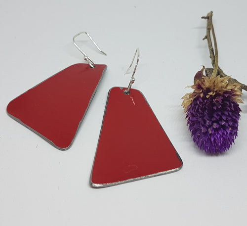 Single Tier Red Toyota FJ45 earrings