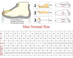 High Top Sneakers Men Air Mesh Breathable  Casual - LiveTrendsX