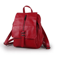 Load image into Gallery viewer, High Quality New Black Blue Red Beautiful Cute Genuine Leather Women Backpack Girl Female Real Skin Lady Travel Bag M9030 - LiveTrendsX
