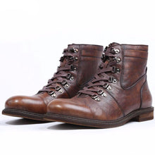 Load image into Gallery viewer, Fashion New Vintage Charm Mens Boots Genuine Leather Handmade  Boot - LiveTrendsX