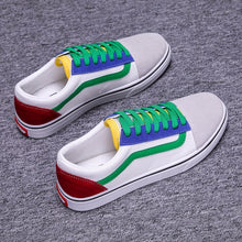 Load image into Gallery viewer, Male Casual Canvas Shoes Breathable Tenis Fashion  Sneaker Flats Shoes - LiveTrendsX
