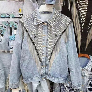 denim  jacket  women  xintiandi sherpa  streetwear  trending products 2019 womens jackets and coats - LiveTrendsX