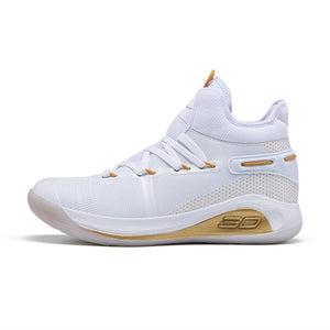 Woman Breathable Basketball Shoes Men Shockproof High Top Sneakers Cushioning Sport Shoes Outdoor Male Training Ankle Boots - LiveTrendsX