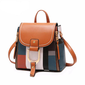 Designer Backpacks Women Leather Backpacks Female School BagS for Teenager Girls Travel Back Bag Retro Bagpack Sac A Dos - LiveTrendsX
