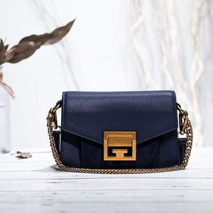 Fashion bag style women handbag luxury genuine leather flap cross body messenger bags lady Waist Packs - LiveTrendsX