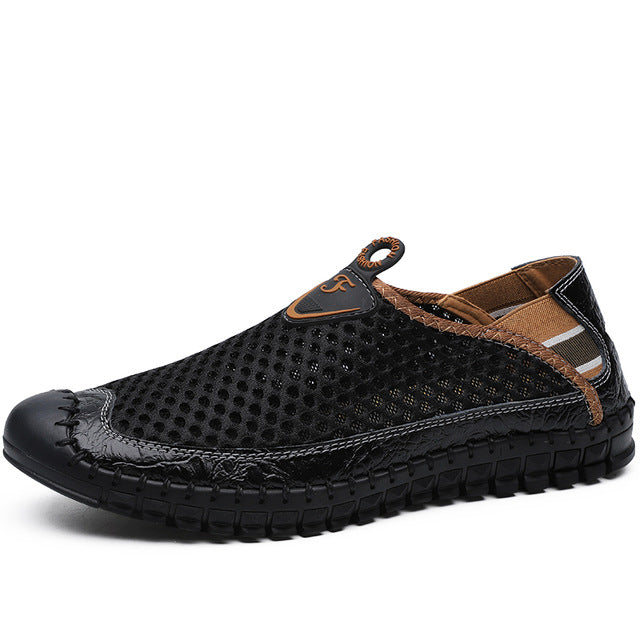 New Men Casual Shoes Breathable Mesh Outdoor Male Shoes - LiveTrendsX