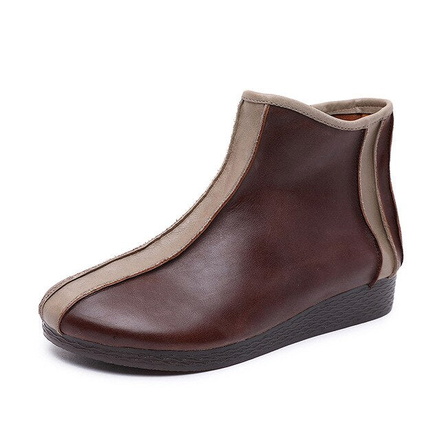 Ladies Boots handmade beautiful girls shoes ladies leather shoes - LiveTrendsX